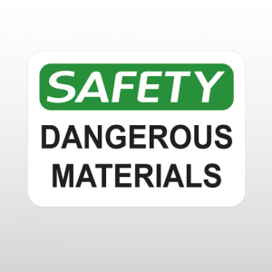 OSHA Safety Dangerous Materials
