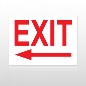 Exit 12 Sign