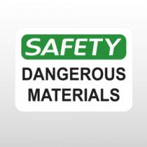 OSHA Safety Dangerous Materials