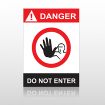 ANSI Danger Do Not Enter