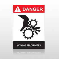 ANSI Danger Moving Machinery