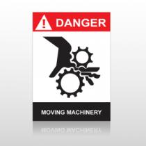 ANSI Danger Moving Machinery