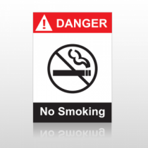 ANSI Danger No Smoking