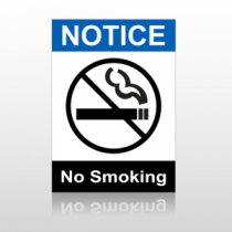 ANSI Notice No Smoking