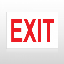 Exit 02 Sign