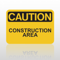 OSHA Caution Construction Area