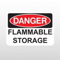 OSHA Danger Flammable Storage