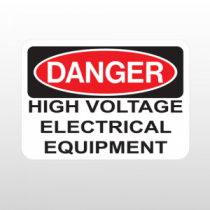 OSHA Danger High Voltage Electrical Equipment