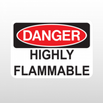 OSHA Danger Highly Flammable