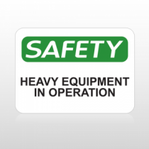 OSHA Safety Heavy Equipment In Operation
