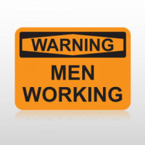 OSHA Warning Men Working