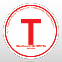 (T) Chesapeake VA Truss Sign